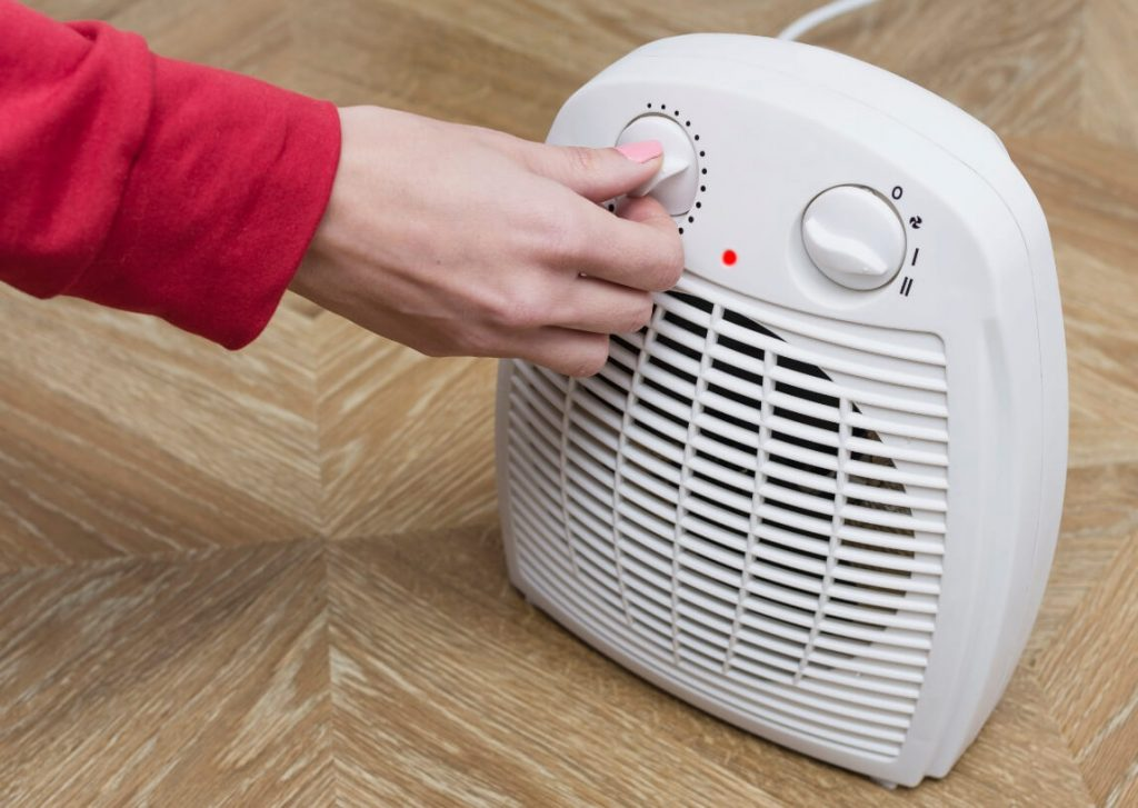 how to use office space heater